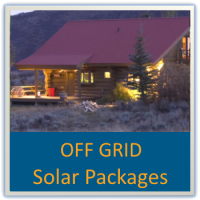 Off Grid Solar Power - SolarKing Solar packages