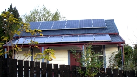 3Kw Solar installation - cottage