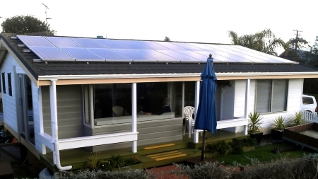 5kw plus solar panel installation