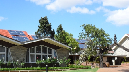 Solar Panel installation at Dilworth School