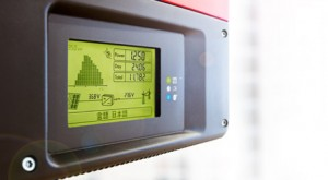 SMA Inverter panel display