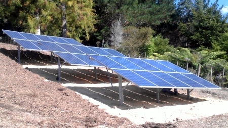 Solar Ground Based Array installation