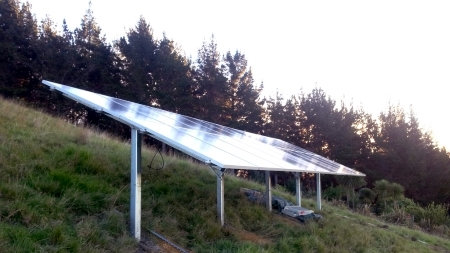Solar Ground Based Array installation2