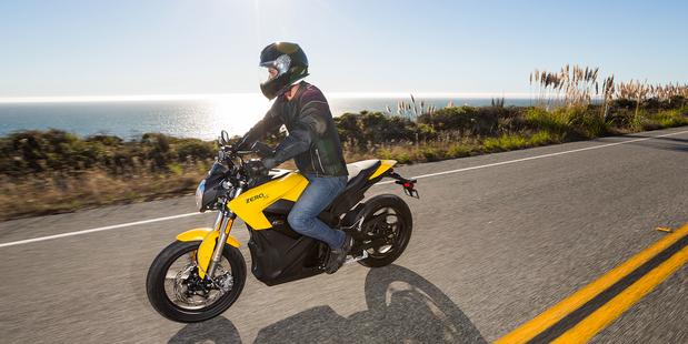 Zero S Solar Motorbike