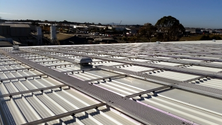 Mainfreight Solar Installation - in progress