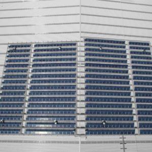 Mainfreight Solar Installation - Roof photo