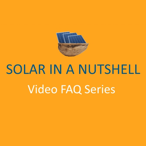 SolarKing's Solar FAQ Video Series