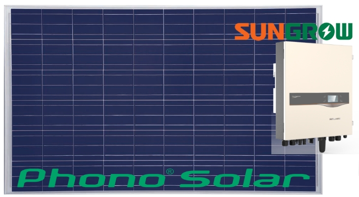Phono Solar and Sun Grow inverters - a powerful solar combination