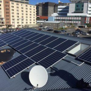 Margaret Stewart House - Cancer Society - Solar installation