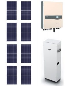 Solar Panels and BYD Battery and Inverter Package