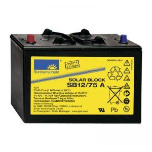 Sonnenschein Off Grid batteries