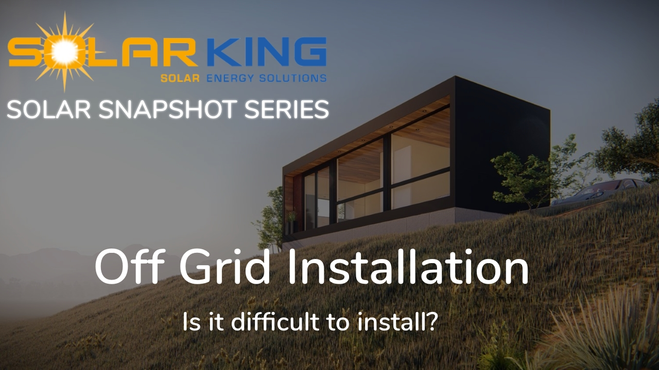 Off Grid Solar Installation FAQs