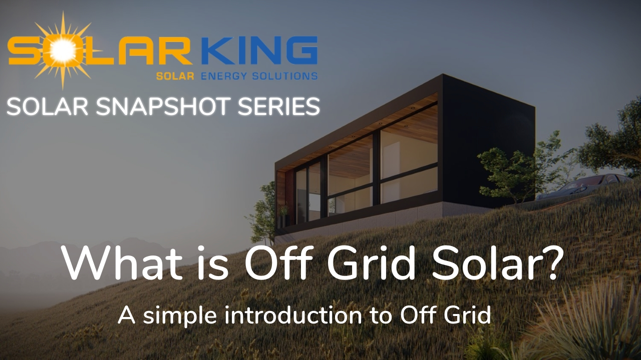 What is Off Grid Solar?