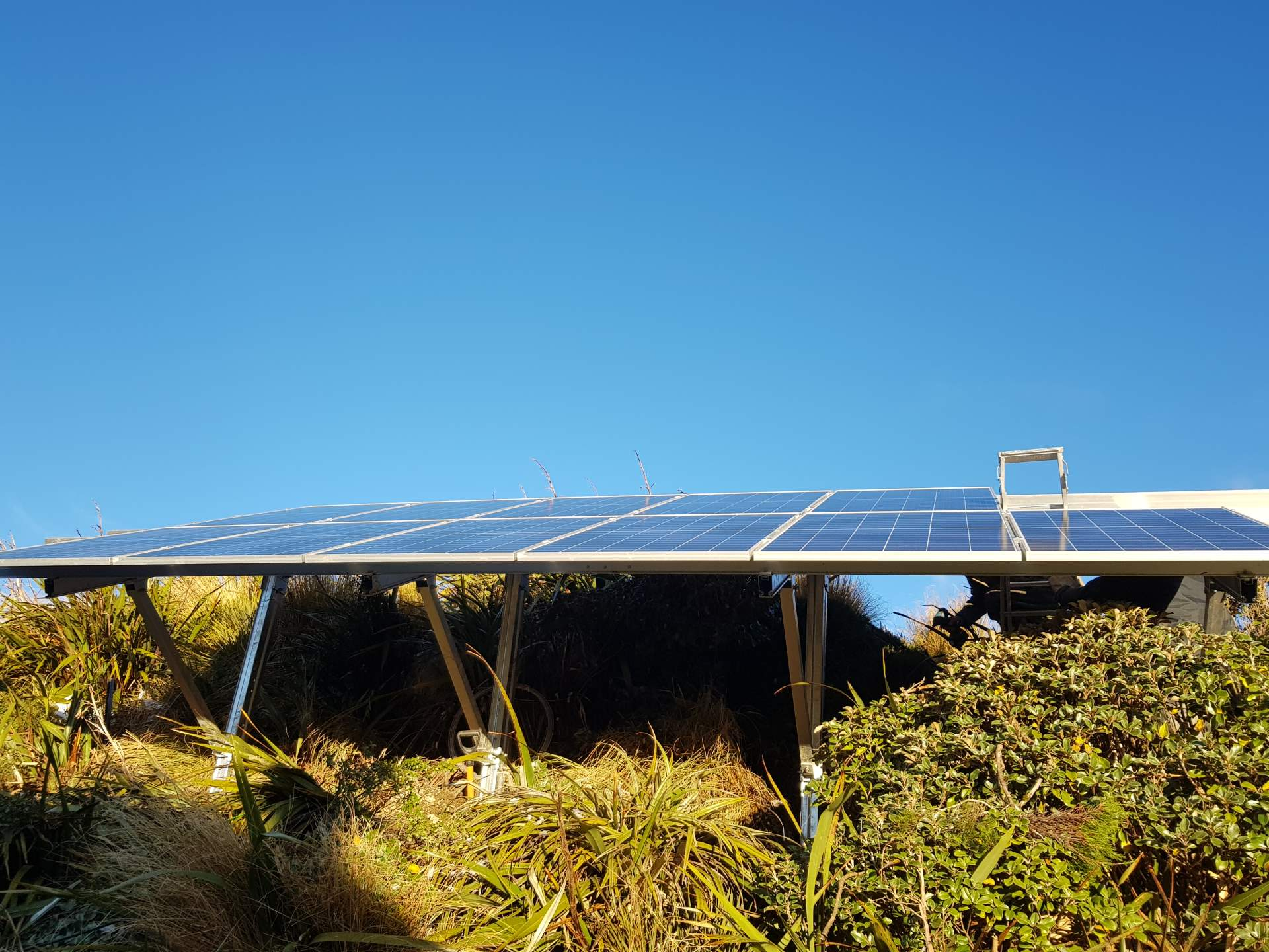 Powell Hut Off Grid Solar 5