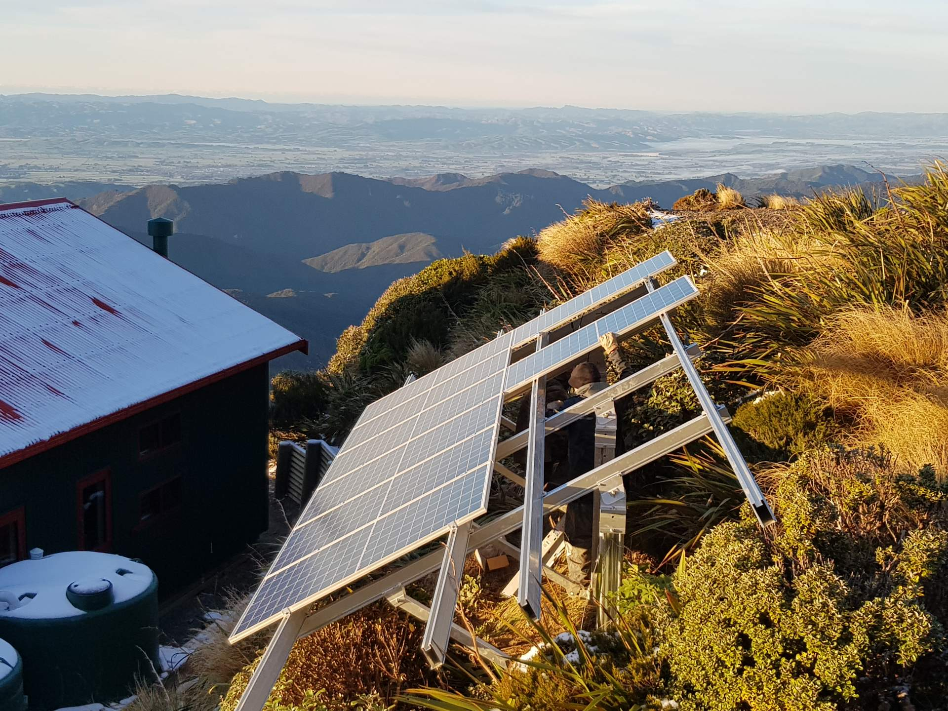 Powell Hut Off Grid Solar 6
