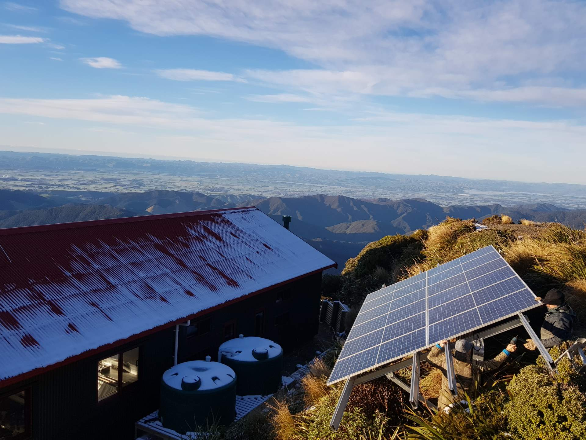 Powell Hut Off Grid Solar 7