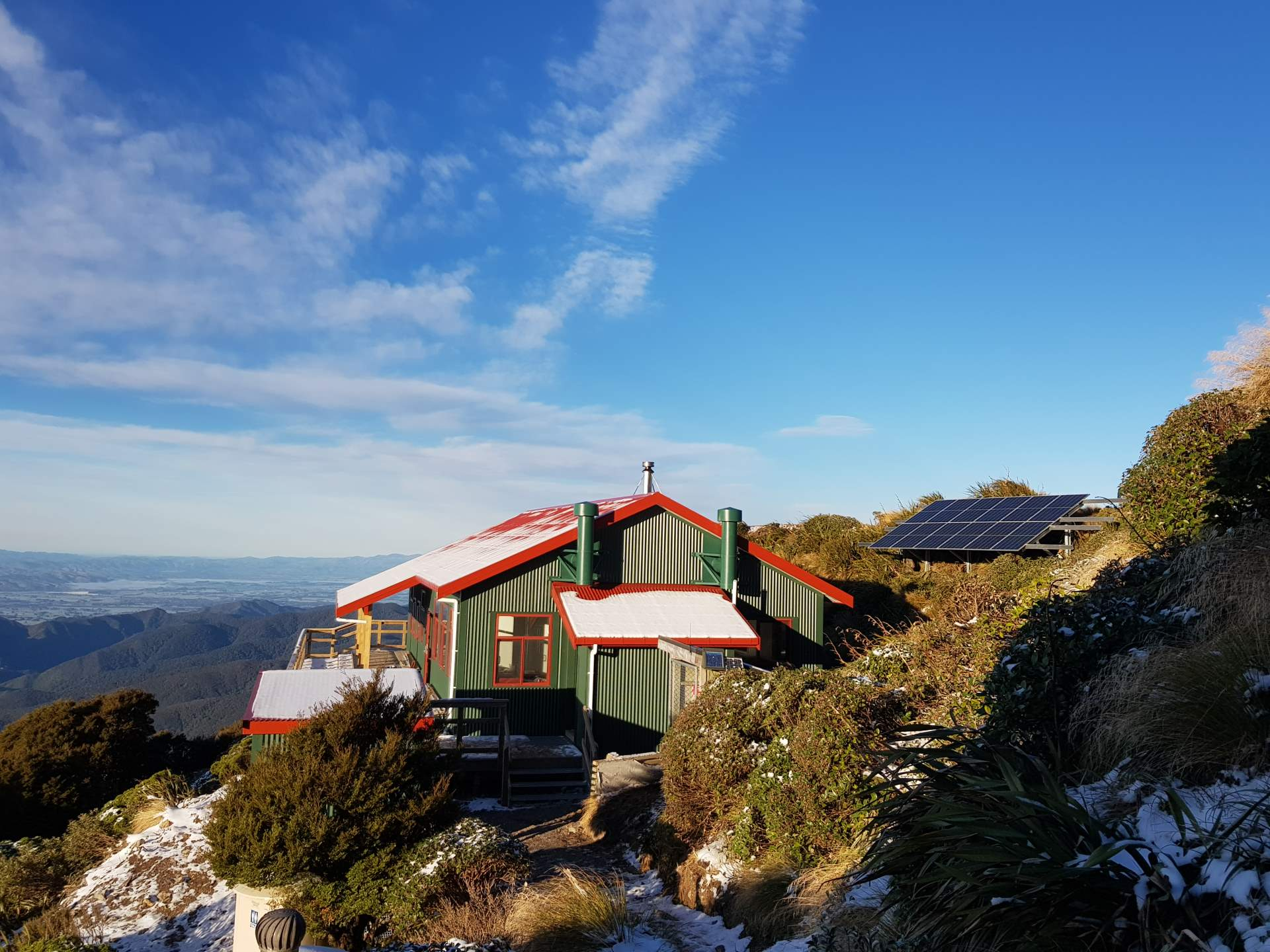 Powell Hut Off Grid Solar 8
