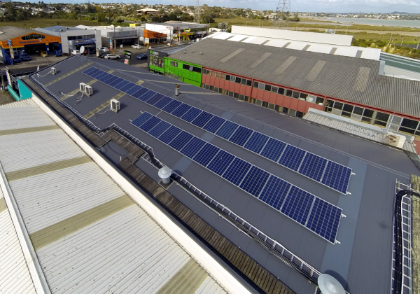 Fitness Centre Commercial Solar Installation
