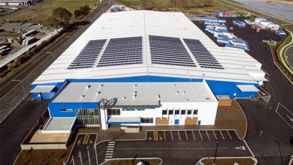 Mainfreight commercial solar installation NZ