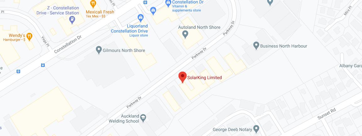 SolarKing Map