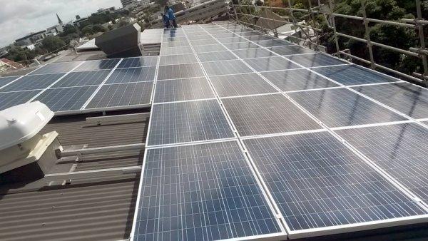 SolarKing Solar installation